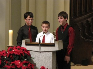 2013 Christmas Day Cantors