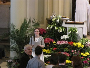 2014 Easter Sunday Cantor Emily