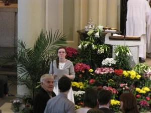 2014 Easter Sunday Cantor Emily